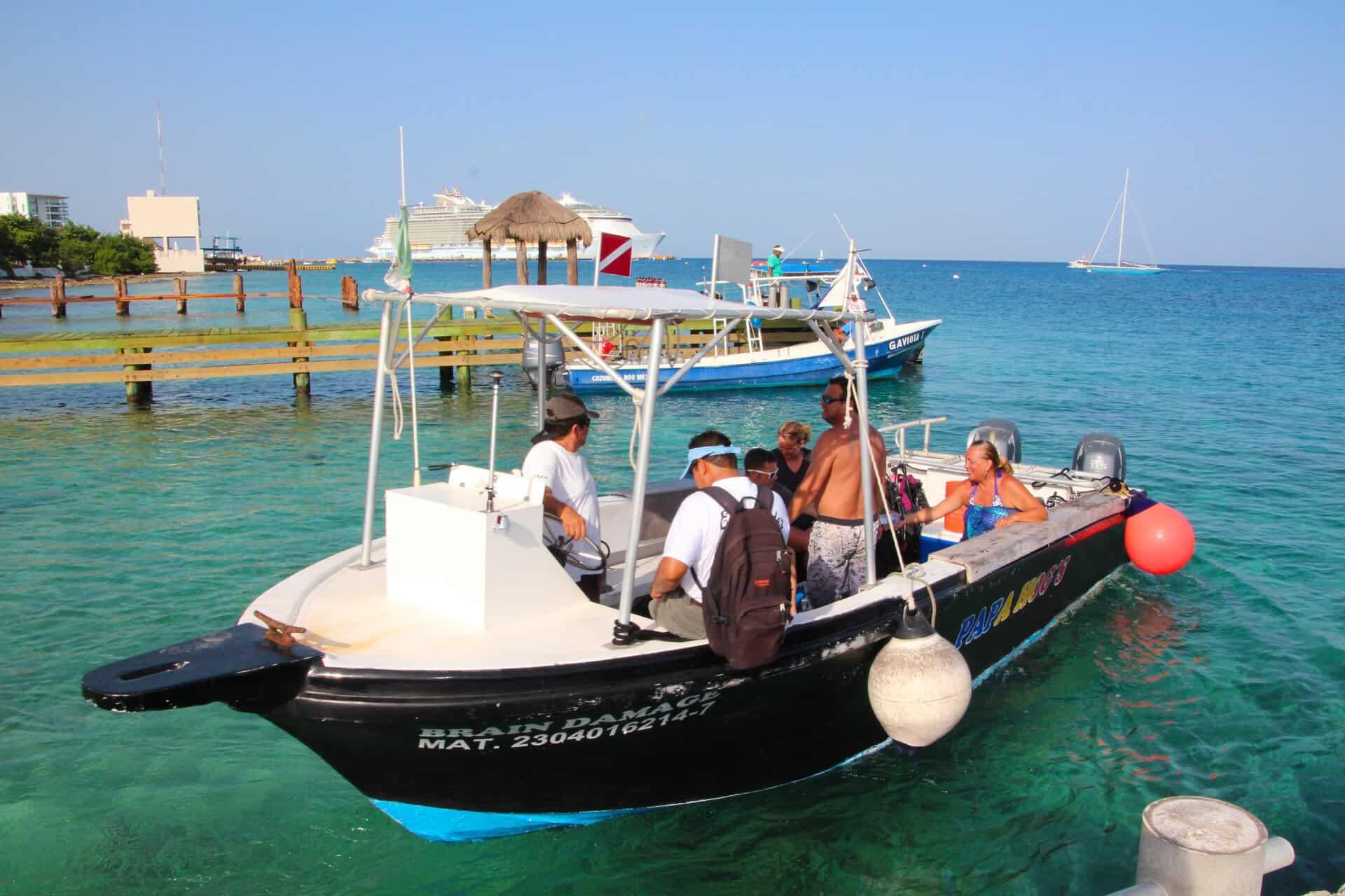 cozumel private snorkeling fast boat   bahamas cruise