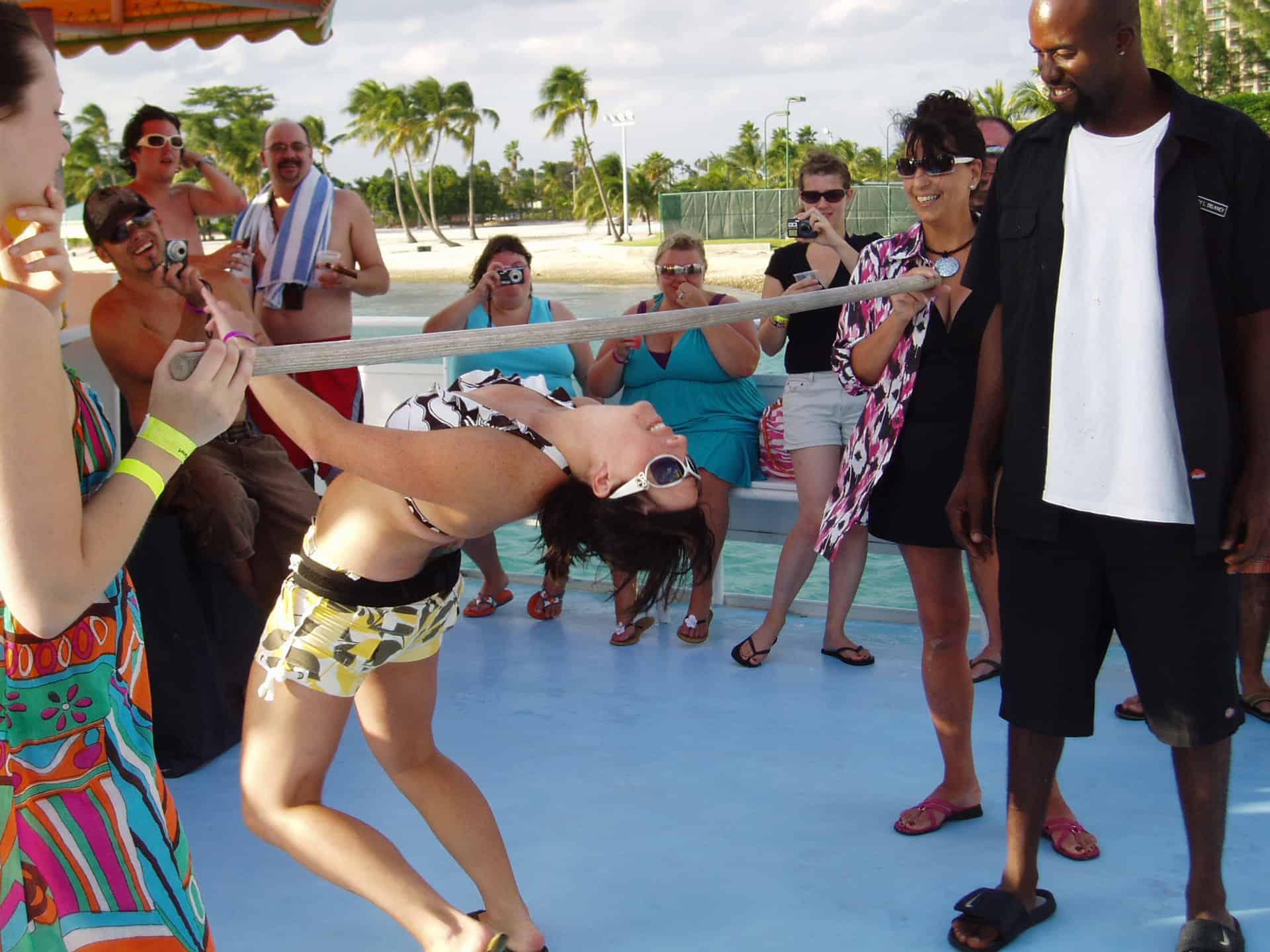 Nassau Booze Cruise Limbo Bahamas Cruise Excursions