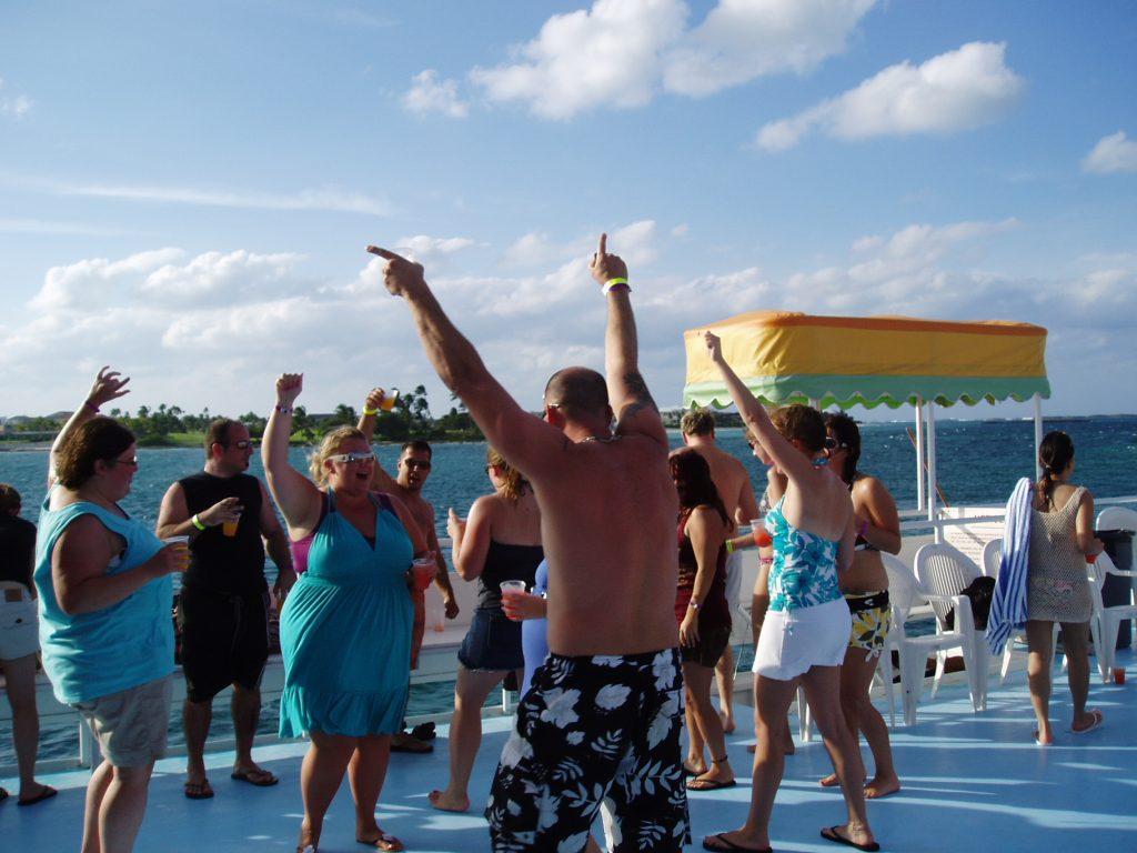 Nassau Booze Cruise Fun