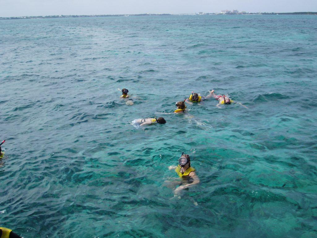 Nassau Booze Cruise Snorkeling
