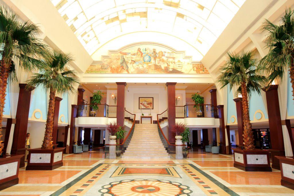 Nassau British Colonial Hilton Lobby