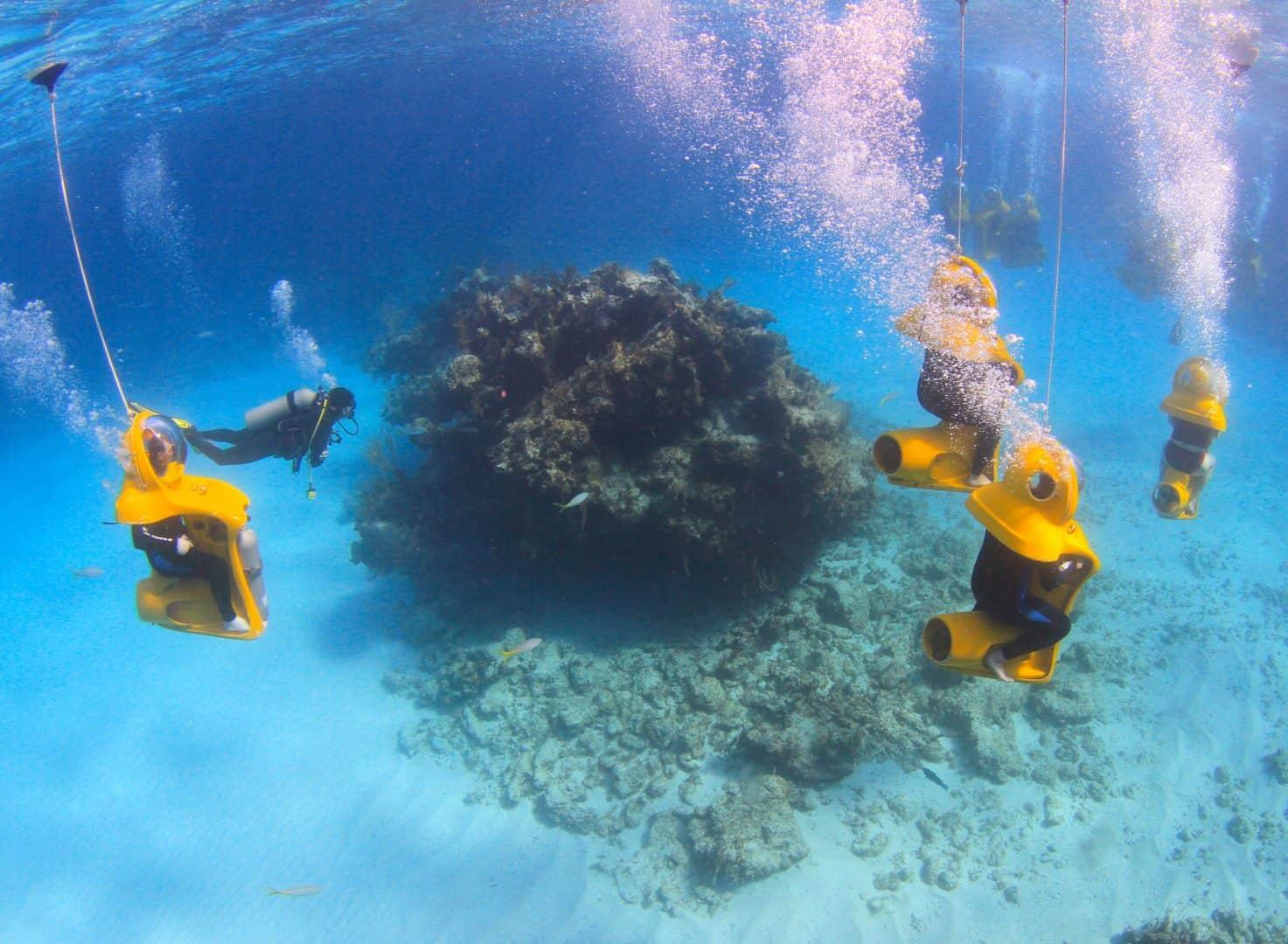 Nassau Mini Sub Reefs Bahamas Cruise Excursions